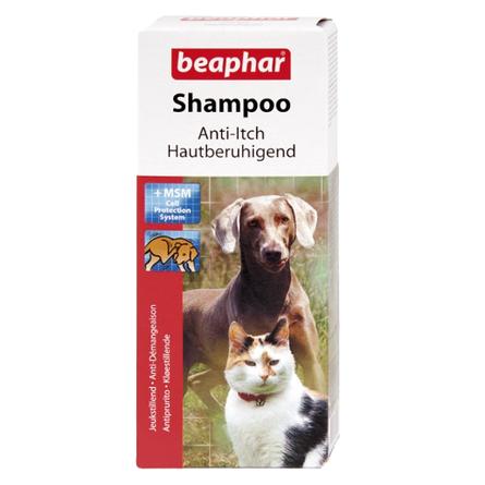 Beaphar Шампунь против зуда для собак и кошек, 200 мл
