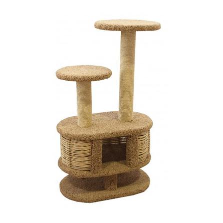 Купить Пушок Моник Когтеточка-комплекс для кошек, сезаль