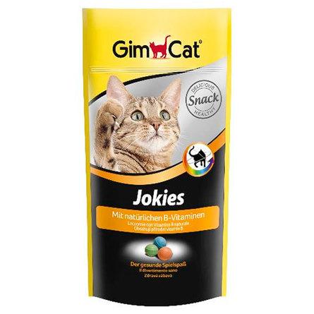 Купить Gimcat Jokies Витаминизированное лакомство для взрослых кошек (с комплексом витамина B), 40 гр, Gimpet