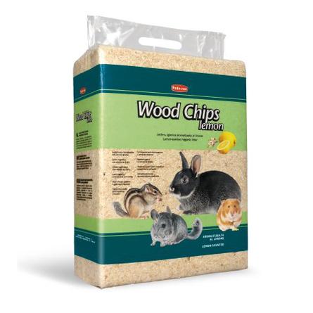 Padovan Wood Chips Древесная стружка для грызунов (с ароматом лимона), 1 кг