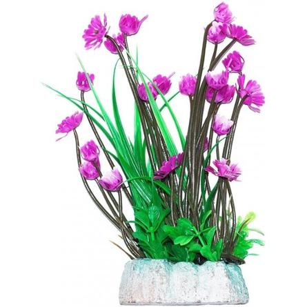 УЮТ Растение аквариумное Гемиантус с лиловыми цветами, 24 см фото