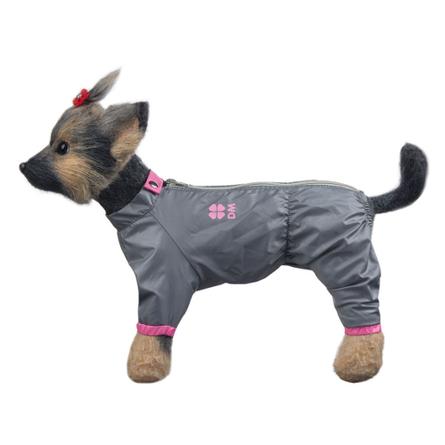 Купить DogModa Комбинезон Тревел для собак, длина спины 28 см, обхват шеи 29 см, обхват груди 45 см, девочка