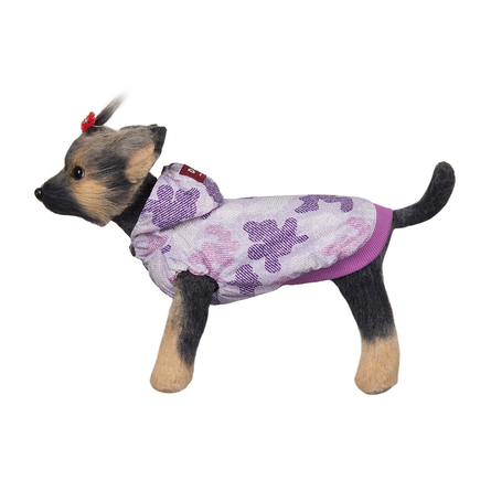 Купить DogModa Ветровка Мегаполис для собак, длина спины 24 см, обхват шеи 25 см, обхват груди 39 см, розовая