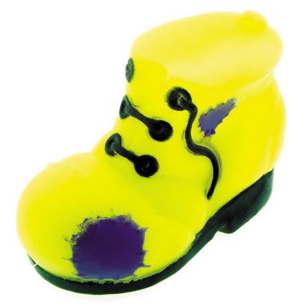 Dezzie Ботинок с кляксой игрушка из винила для собак