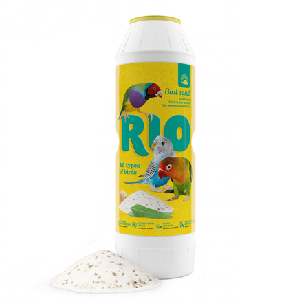 Rio Гигиенический песок для птиц (с экстрактом эвкалипта и ракушечником), 2 кг