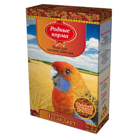 Купить Родные Корма Корм для средних попугаев, 400 гр, Родные корма