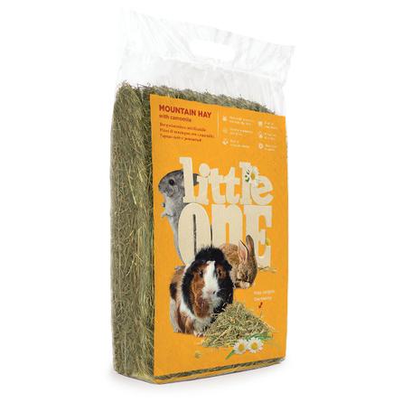 Little One Горное сено для грызунов с ромашкой, 400 гр
