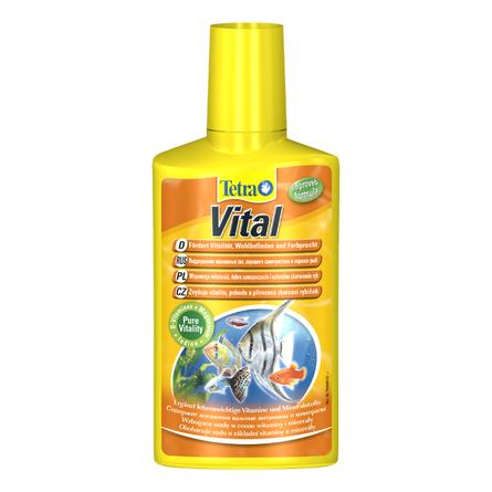 Купить Tetra Vital Кондиционер для поддержания естественных условий в аквариуме на 200 л, 100 мл