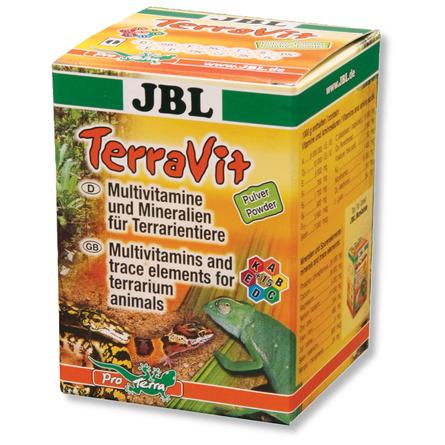 Купить JBL TerraVit Pulver Мультивитамины и микроэлементы для всех видов рептилий, 100 гр