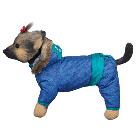Купить DogModa Комбинезон Финляндия для собак, длина спины 24 см, обхват шеи 25 см, обхват груди 39 см, унисекс