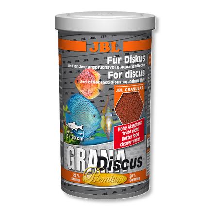 JBL GranaDiscus Основной корм премиум-класса для дискусов, гранулы, 250 мл