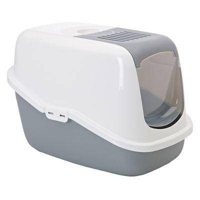 Купить Savic Nestor Туалет-домик для кошек, серый