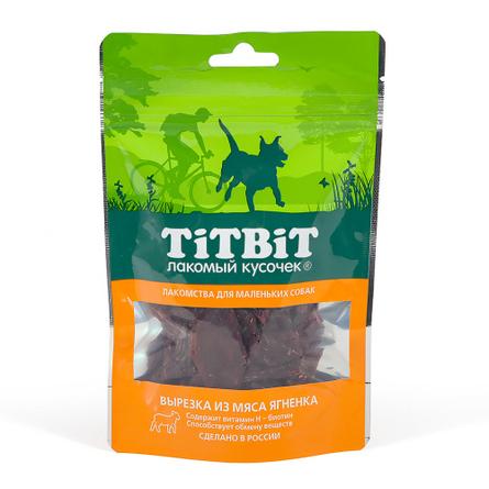 Купить TiTBiT Вырезка из мяса ягненка для взрослых собак мини-пород, 50 гр