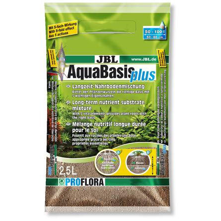 Купить JBL AquaBasis plus Готовая смесь питательных элементов для новых аквариумов, 2, 5 л