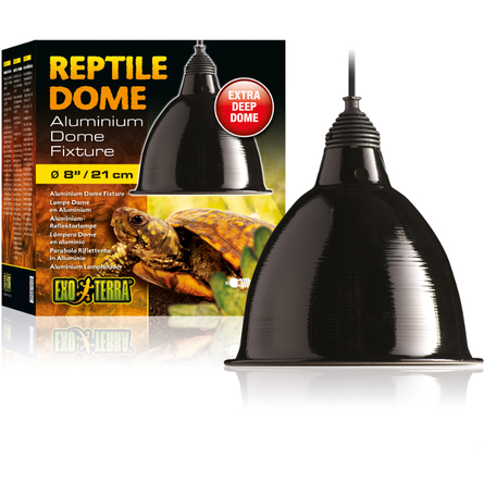Купить Exo-Terra Reptile Dome Светильник с отражателем для ламп до 75W