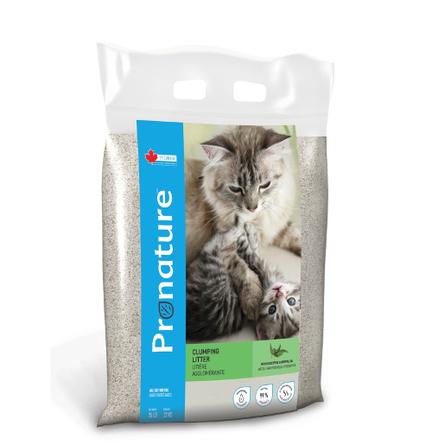 Купить со скидкой Pronature Holistic комкующийся наполнитель Аромат Эвкалипта для кошачьего туалета, 12 кг