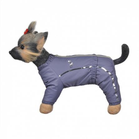 Купить DogModa Комбинезон теплый Альпы для собак, длина спины 24 см, обхват шеи 25 см, обхват груди 39 см, девочка