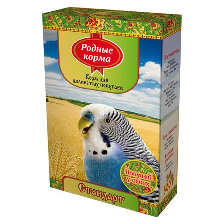 Купить Родные Корма Корм для волнистых попугаев, 500 гр, Родные корма