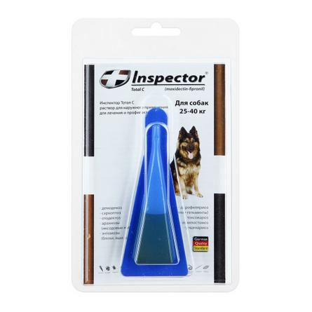 Купить Inspector Капли от внешних и внутренних паразитов для собак от 25 до 40кг, 4 мл
