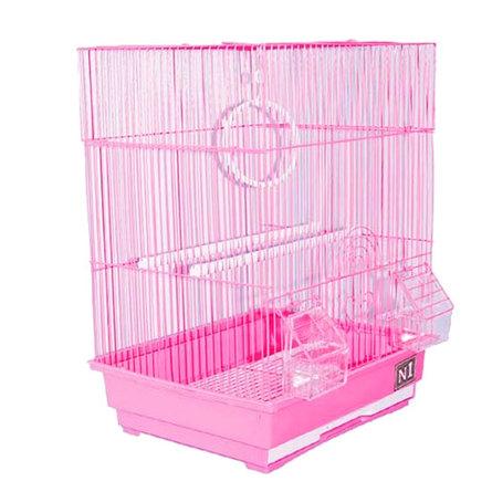 Купить N1 клетка для птиц прямоугольная, укомплектованная (ДКпА405)