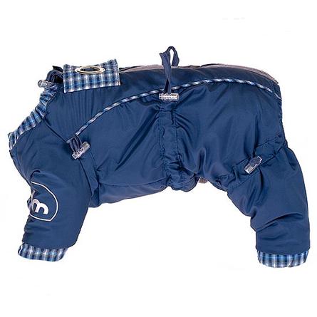 Купить DogModa Doggs Комбинезон теплый для собак, длина спины 25 см, обхват шеи 33 см, обхват груди 48 см, мальчик