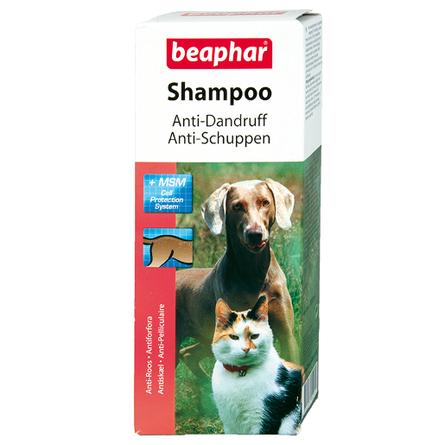 Beaphar Anti-Dandruff Шампунь для собак и кошек против перхоти, 200 мл