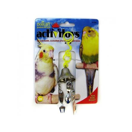 J.W.Pets Игрушка для птиц ''Вилка, ножик, ложка