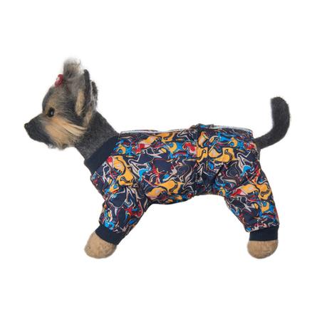 Купить DogModa Комбинезон Лаки для собак, длина спины 28 см, обхват шеи 29 см, обхват груди 45 см, мальчик