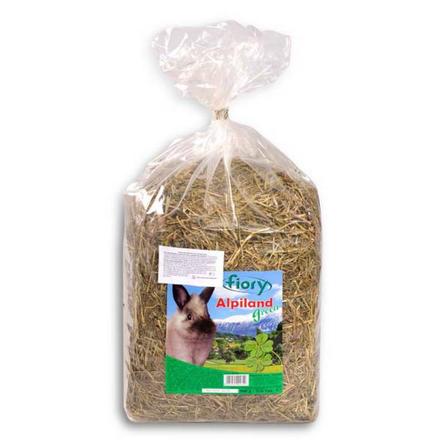 Купить Fiory Fieno Alpiland Rose Горное сено для грызунов (с люцерной), 500 гр