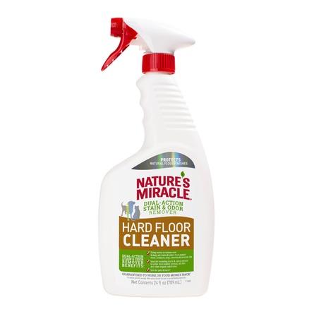 Natures Miracle 8in1 Dual Action HardFloor Stain&Odor Уничтожитель пятен и запахов для полов  , 709 мл