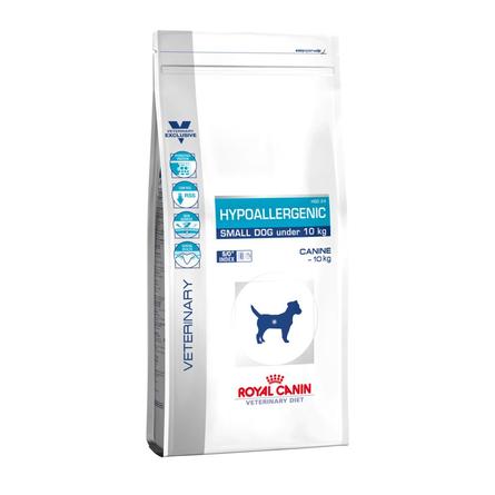 Купить Royal Canin Hypoallergenic HCD24 Small Dog Сухой лечебный корм для собак мелких пород при заболеваниях кожи и аллергиях, 3, 5 кг