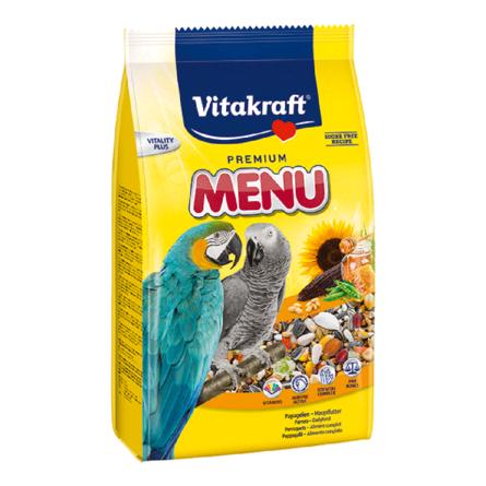 Купить Vitakraft Menu Vital Honey Корм для крупных попугаев, 1 кг