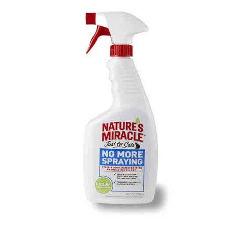 Nature's Miracle / Nature's Miracle JFC No More Spraying Средство-антигадин для кошек, 710 мл