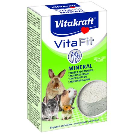 Купить Vitakraft Vita Fit Mineral Минеральный камень для грызунов (с йодом и кальцием), 170 гр