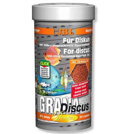 JBL GranaDiscus Основной корм премиум-класса для дискусов (гранулы), 1 л