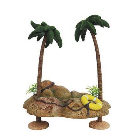 ArtUniq Islet With Palmtrees Декоративная композиция для аквариума Островок с пальмами, 735 гр