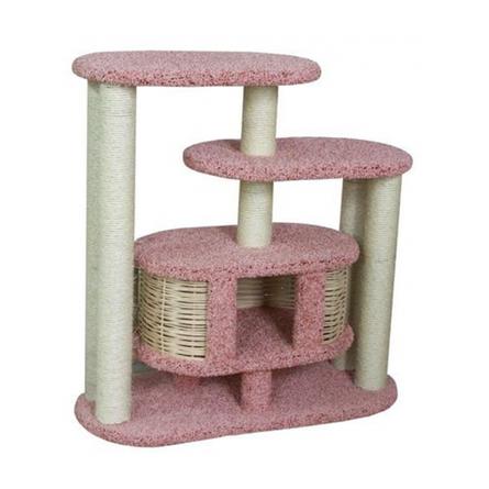 Купить Пушок Чаруша когтеточка-комплекс для кошек, сезаль