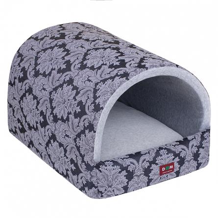Купить Dogmoda Классика Грей Домик мягкий для животных, серый