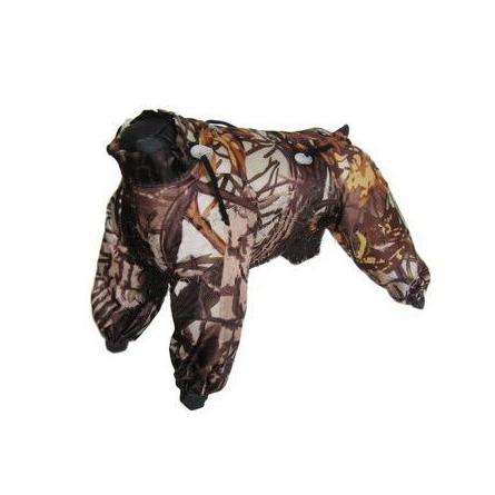 Купить Ютакс Комбинезон утепленный синтепоном Спектр для собак, обхват груди 45-52 см, девочка