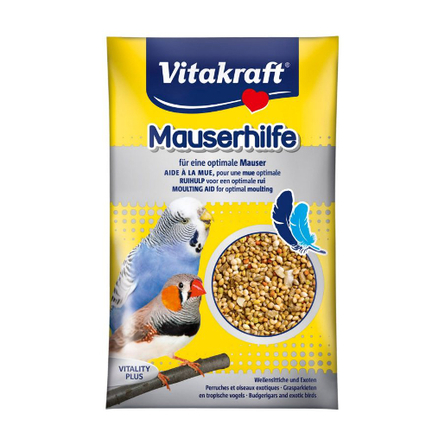 Купить Vitakraft Pucki's mauserhilfe подкормка для волнистых попугаев во время линьки, 20 гр