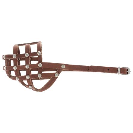 Купить Аркон Намордник, обхват морды 26 см, цвет коньячный