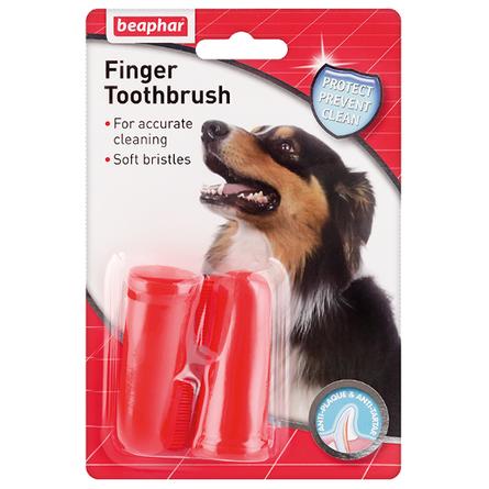 Beaphar Finger Toothbrush Зубные щетки на палец для собак
