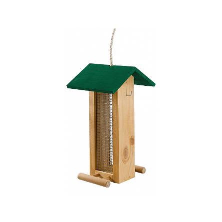 Ferplast Уличная кормушка для птиц NATURA F5, деревянная фото