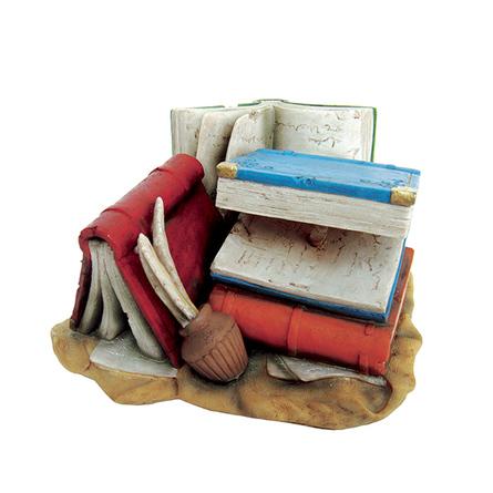ArtUniq Books For Wise Fishes Декоративная композиция для аквариума Книги для учёных рыб, 325 гр