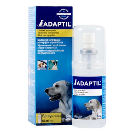 ADAPTIL модулятор поведения для собак на феромоне в форме спрея, 60 мл фото