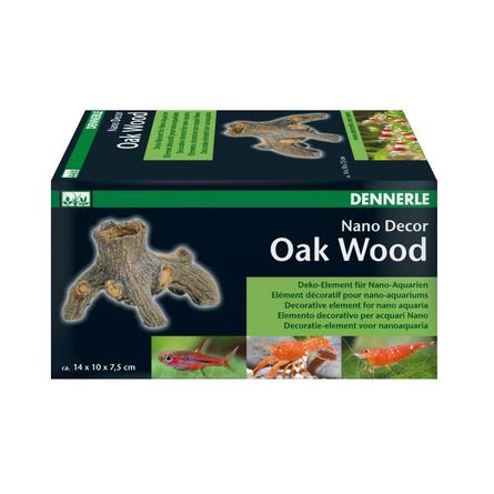 Купить Dennerle Nano Decor Oak Wood Декоративный элемент для нано-аквариумов, коричневый