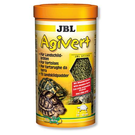 JBL Agivert Растительный корм для сухопутных черепах, палочки, 1 л