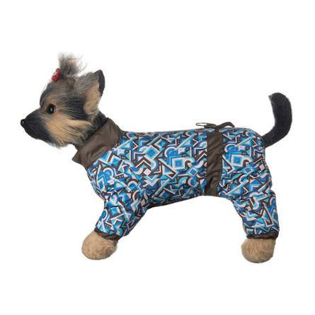 DogModa Комбинезон Норд для собак, длина спины 24 см, обхват шеи 25 см, обхват груди 39 см  - купить со скидкой