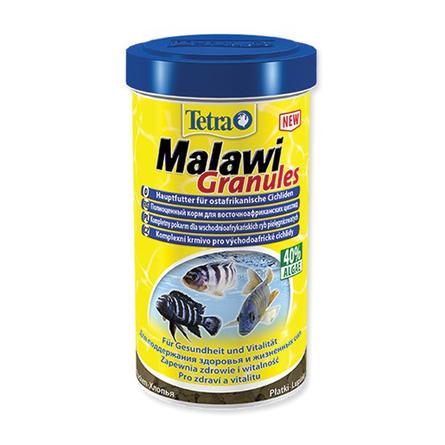 Купить Tetra Malawi Granules Основной корм для всех видов восточноафриканских цихлид, 250 мл