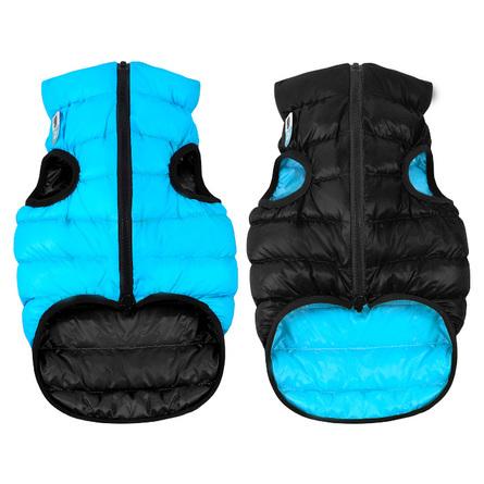 Collar AiryVest Курточка двухсторонняя для собак, черно-голубая